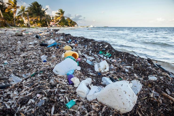 Garbage Pacific Ocean