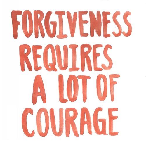 Forgiveness Requires