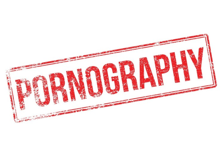 pornography-red-rubber-stamp-on-white-vector