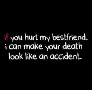 hurt my friend