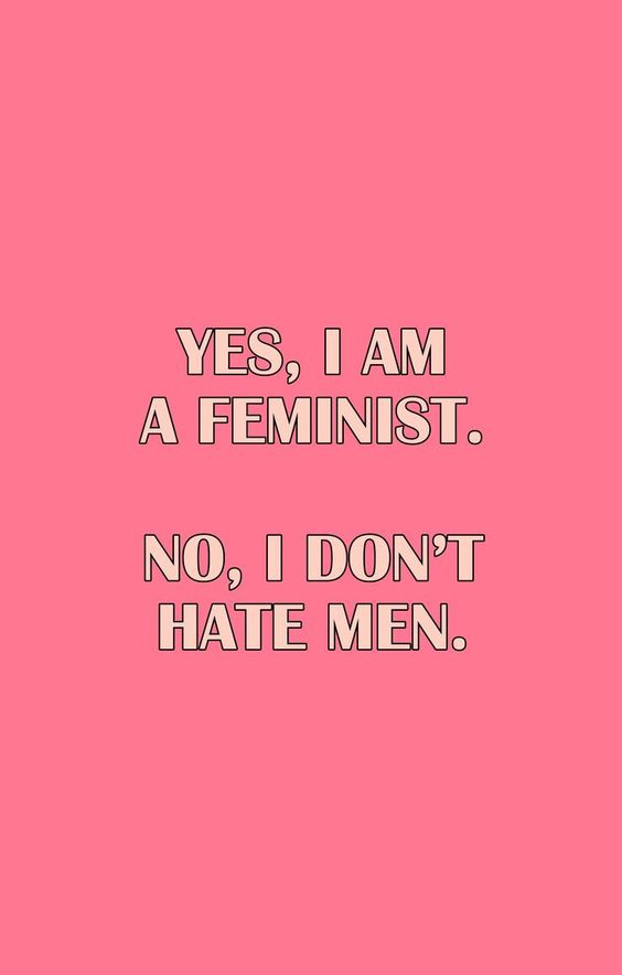 no I don't hate men