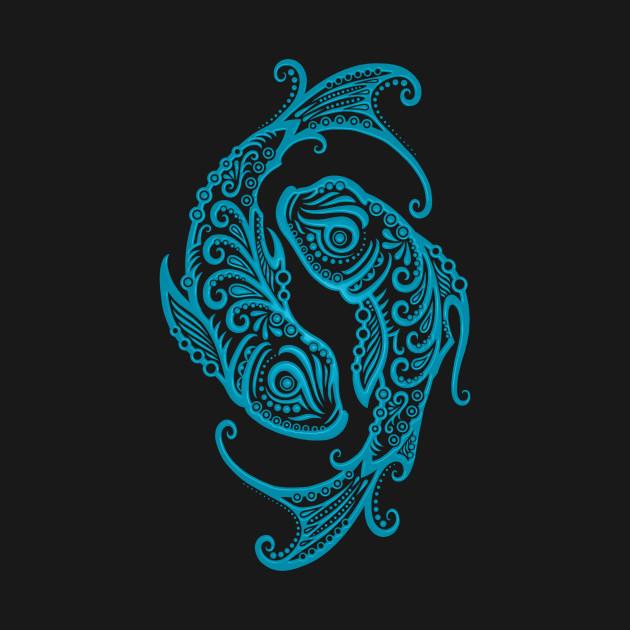 pisces blue