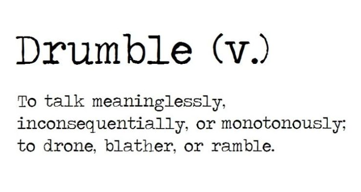drumble definition