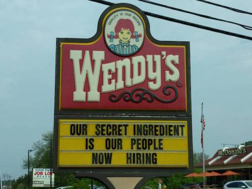 secret ingredient wendys