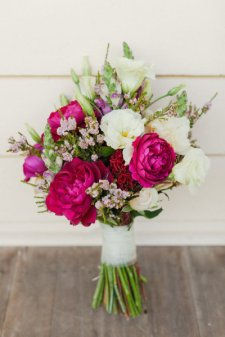 Mixed White Pink Flowers