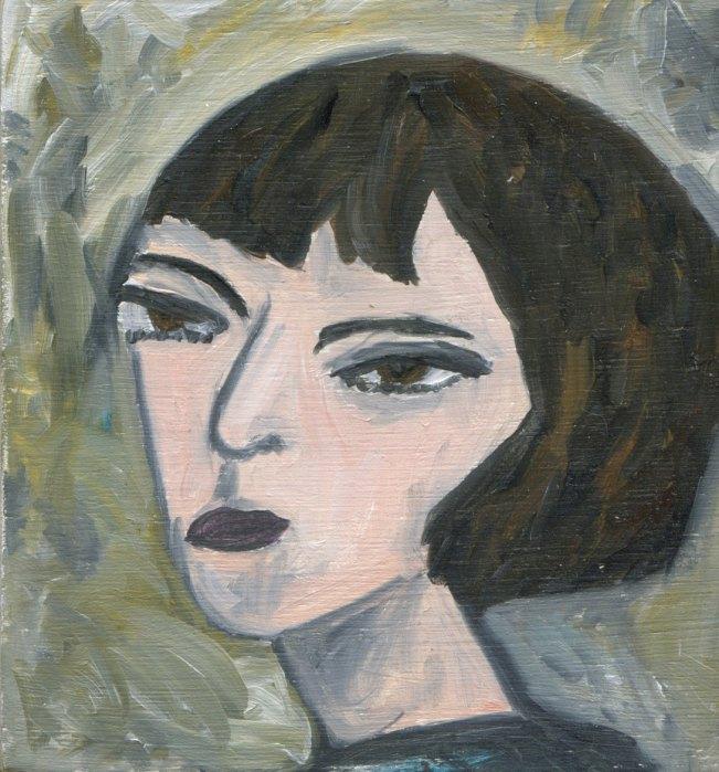 Dorothy Parker Amatuer Portrait