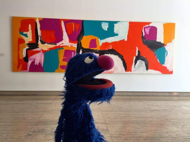 Grover Loves Art