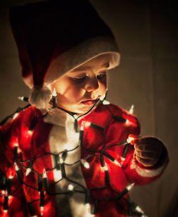 Baby Santa Lights