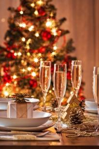 Christmas Champagne Dinner