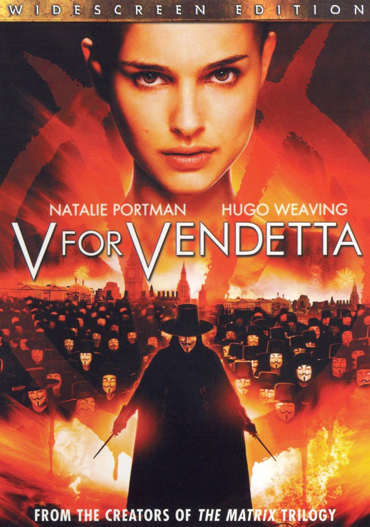 v vendetta DVD