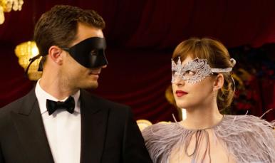 50 shades masquerade