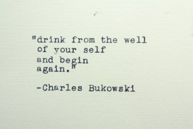 bukowski from the well
