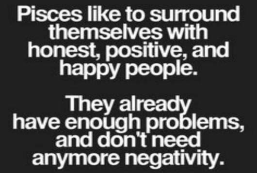 pisces positive