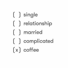 relationship with coffee