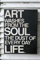 Art Washes Dust